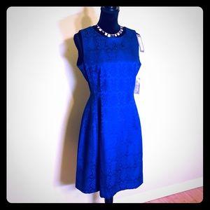 Royal Blue NWT Flowy Sleeveless Dress